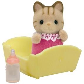 Sylvanian Families - Dziecko pręgowanych kotków 5186