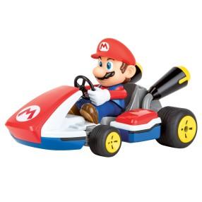 Carrera RC - Mario Kart, Mario - Race Kart z dźwiękiem 2.4GHz 1:16 162107 Digital Proportional
