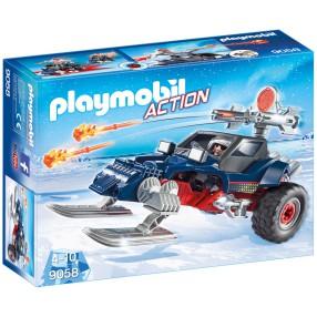 Playmobil - Pojazd płozowy z piratem polarnym 9058