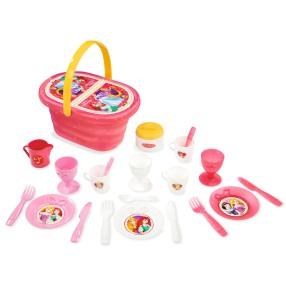 Smoby Księżniczki Disneya - Koszyk piknikowy z akcesoriami 310554