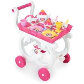 Smoby Księżniczki Disneya - Bajeczny wózek z zastawą 310555
