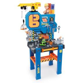 Smoby Bob Budowniczy - Warsztat Bricolo Center + Dźwig 360715
