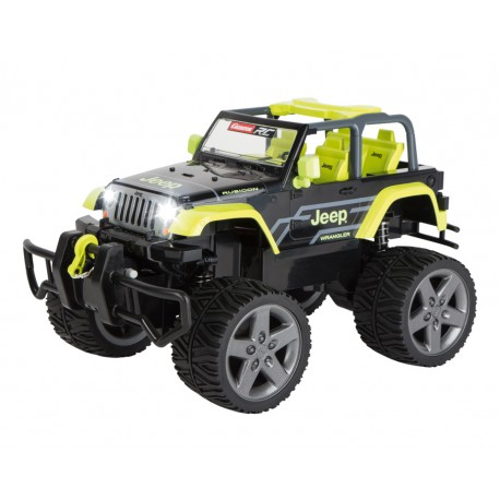 Carrera RC - JEEP Wrangler Rubicon zielony 2.4GHz 1:16 162104 Digital Proportional
