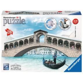 Ravensburger - Puzzle 3D Most Rialto 216 elem. 125180