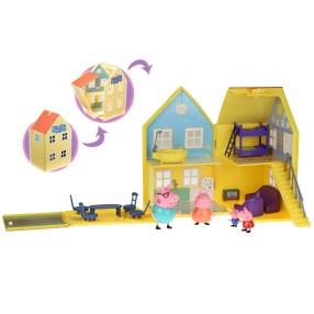 TM Toys Świnka Peppa - Domek Deluxe z figurkami 04840
