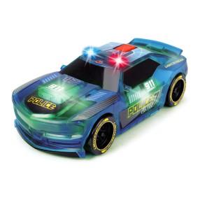 Dickie Racing - Pojazd Lightstreak Policja ze światłem i dźwiękiem 3763001