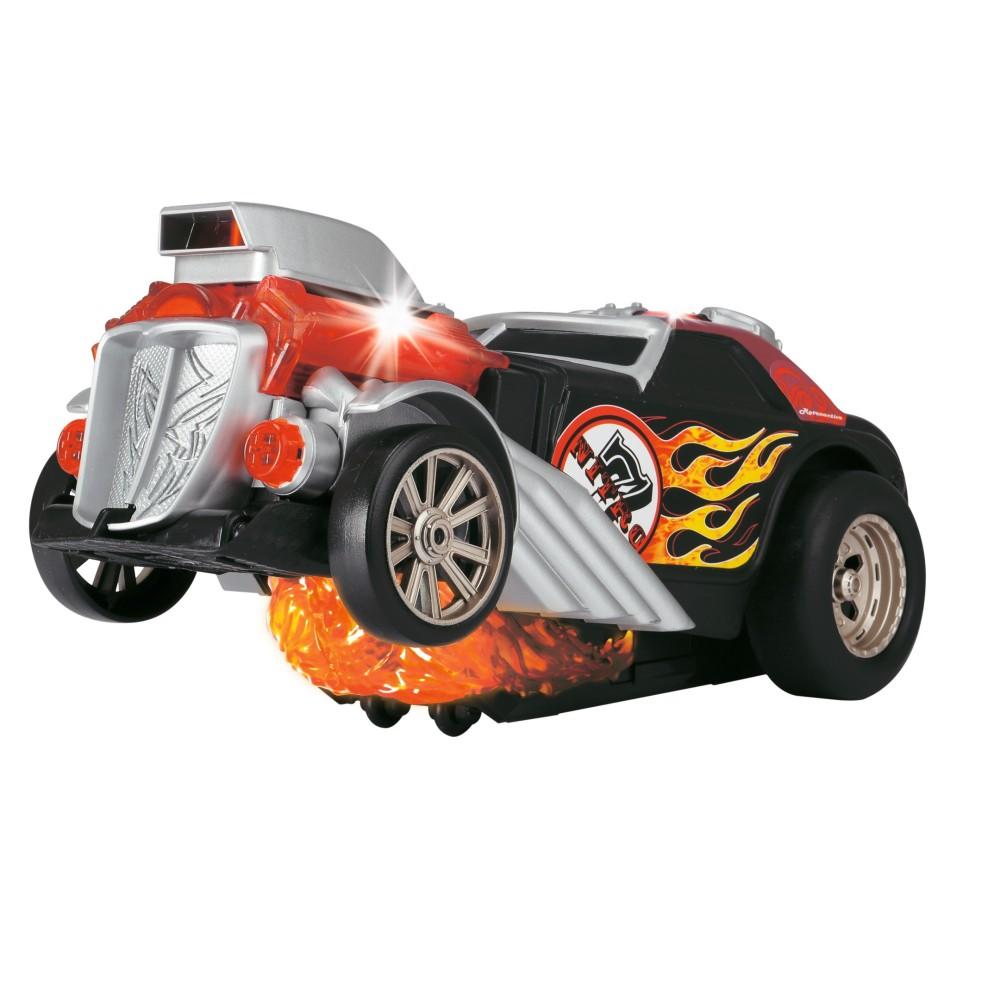 Dickie Racing - Jeżdżący pojazd Daredevil ze światłem i dźwiękiem 3765000