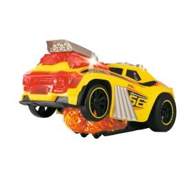 Dickie Racing - Jeżdżący pojazd Skullracer ze światłem i dźwiękiem 3765001