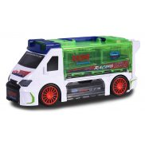 Majorette - Van walizka na resoraki i auto wyścigowe 2058188