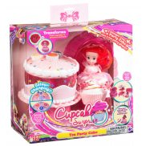TM Toys - Cupcake Surprise Zestaw tort - stół piknikowy 2w1 Różowy 1136