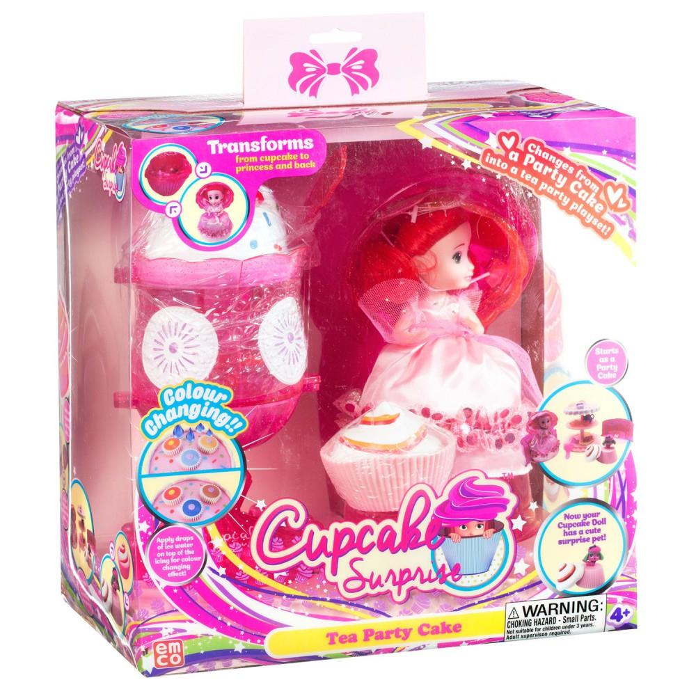 TM Toys - Cupcake Surprise Zestaw deser lodowy - salon piękności 2w1 Różowy 1140