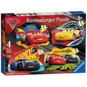 Ravensburger - Auta 3 Puzzle podłogowe 068913