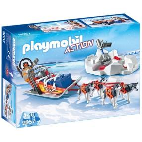 Playmobil - Psi zaprzęg 9057