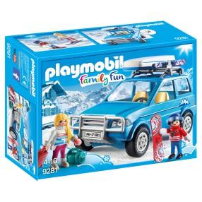 Playmobil - Auto z boxem dachowym 9281