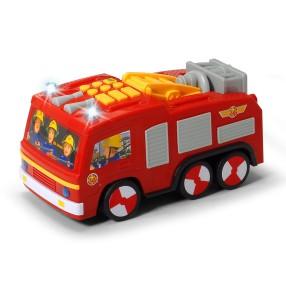 Dickie - Strażak Sam Wóz strażacki Jupiter Super Tech Światło Dźwięk 3096001