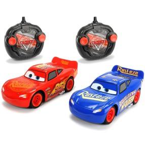Dickie RC Auta 3 - 2-pak Samochód Turbo Racer Fabulous McQueen i Zygzak 3087008