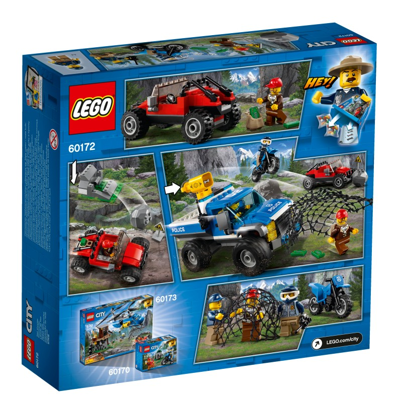 Lego City Pościg Górską Drogą 60172
