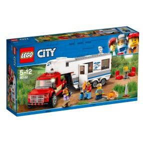 LEGO CITY - Pickup z przyczepą 60182