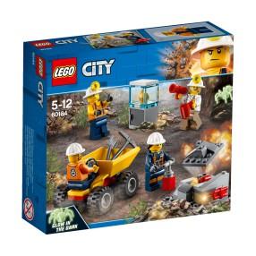 LEGO CITY - Ekipa górnicza 60184