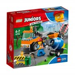 LEGO Juniors - Samochód robót drogowych 10750