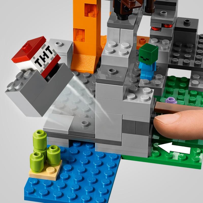 66ef7a5ff LEGO Minecraft - Jaskinia zombie 21141