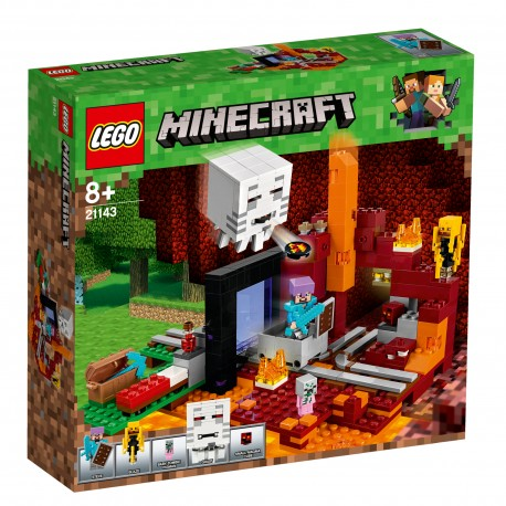LEGO Minecraft - Portal do Netheru 21143