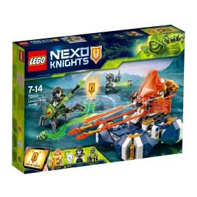 LEGO Nexo Knights - Bojowy poduszkowiec Lance'a 72001