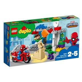 LEGO Duplo - Przygody Spider-Mana i Hulka 10876