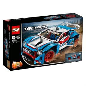 LEGO Technic - Niebieska wyścigówka 2w1 42077