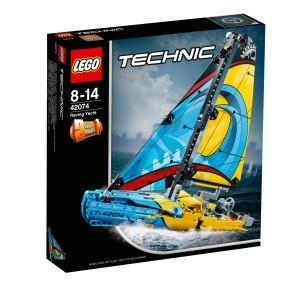 LEGO Technic - Jacht wyścigowy 2w1 42074