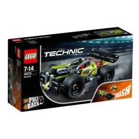 LEGO Technic - Żółta wyścigówka 2w1 42072