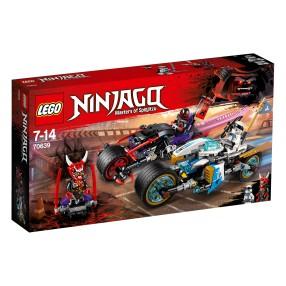 LEGO Ninjago - Wyścig uliczny Wężowego Jaguara 70639