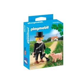 Playmobil - Kominiarz z czterolistną koniczynką i świnką 9296