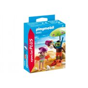 Playmobil - Dzieci z zamkiem z piasku 9085