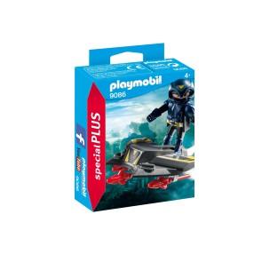 Playmobil - Sky Knight z pojazdem latającym 9086