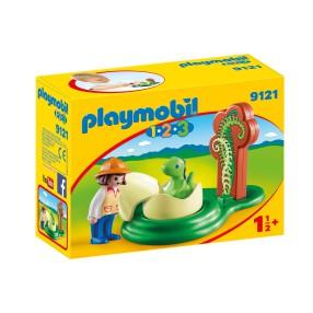 Playmobil - Mały dinozaur w jajku 9121
