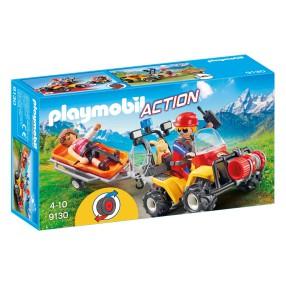 Playmobil - Quad ratownictwa górskiego 9130