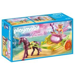 Playmobil - Wróżka kwiatów z karocą jednorożca 9136