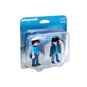 Playmobil - Duo Pack Policjant i złodziej 9218