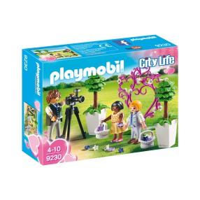 Playmobil - Fotograf i dzieci z kwiatkami 9230
