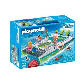 Playmobil - Łódź ze szklanym dnem i silnikiem podwodnym 9233