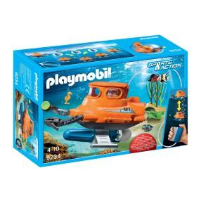 Playmobil - Łódź podwodna z silnikiem podwodnym 9234