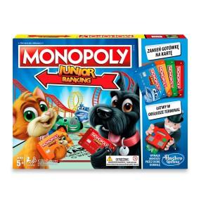 Hasbro - Monopoly Junior Electronic Banking E1842 Polska Wersja!