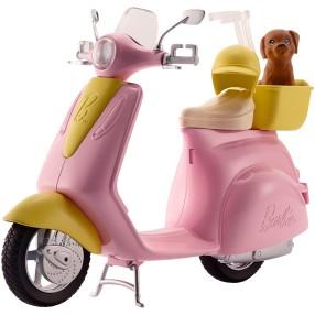 Barbie - Skuter dla lalki ze szczeniaczkiem FRP56