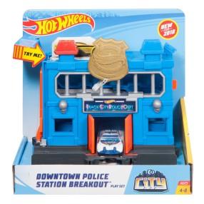 Hot Wheels City - Odjazdowy posterunek policji FRH33