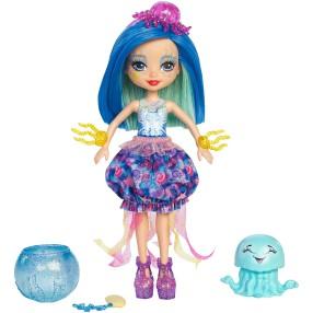 EnchanTimals - Morska lalka Jessa Jellyfish i Marisa FKV57