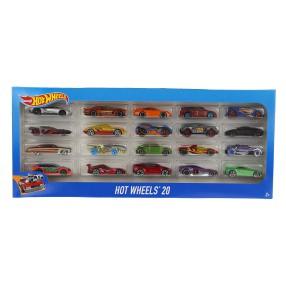 Hot Wheels - Małe samochodziki Dwudziestopak H7045 18