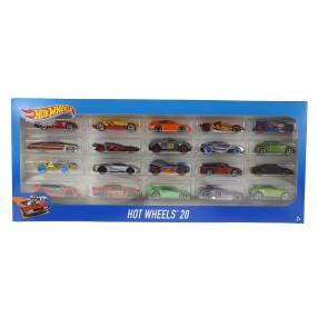 Hot Wheels - Małe samochodziki Dwudziestopak H7045 24
