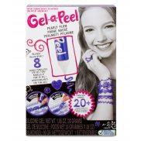 Gel-a-Peel - Zestaw Podstawowy Magiczny żel Tuba Perłowy śliwkowy 550105
