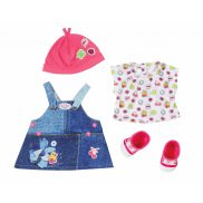 BABY born - Ubranko dżinsowe dla lalki Sukienka 824498 A